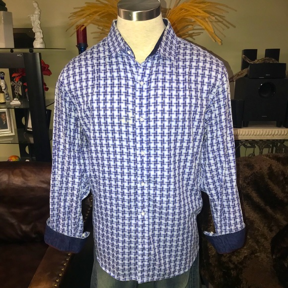 Tasso Elba men's dress shirt xxl